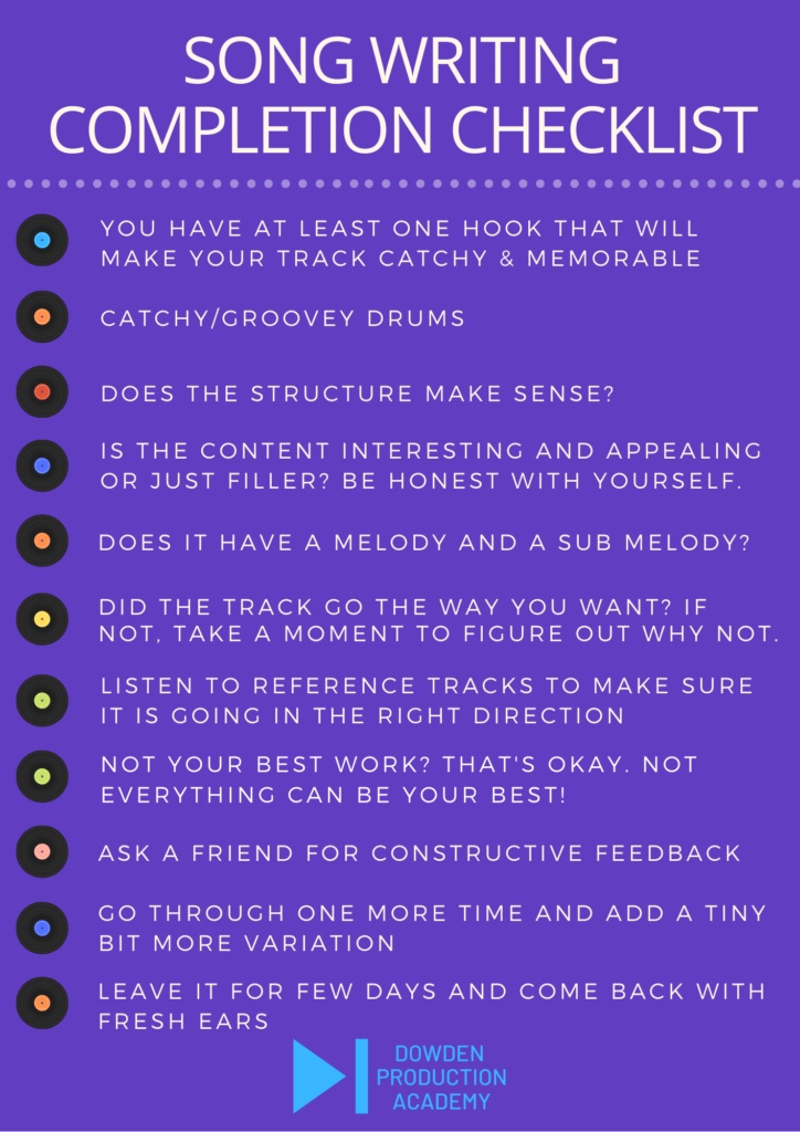 tips on songwriting