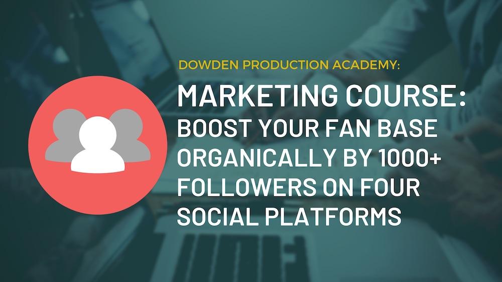 digital marketing course for musicians enrol now!